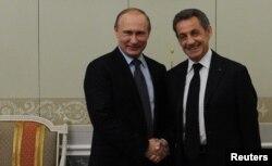 В июне этого года Николя Саркози побывал в Москве у Владимира Путина