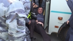 Police Detain Dozens Of Protesters In Nur-Sultan