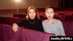 Эльвира Хәсәнова кызы Дәлия белән