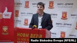Зоран Илиовски, координатор на ВМРО-ДПМНЕ од Битола.
