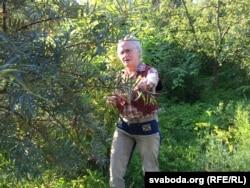 Акрамя традыцыйна-беларускіх шмат экзатычных расьлін