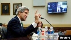 ShBA - Sekretari amerikan i shtetit, John Kerry (Ilustrim)