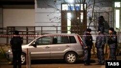 Место убийство Ибрагима Эльджаркиева в Москве