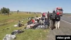 В Оренбургской области ранее на несколько недель застряли сотни мигрантов из Узбекистана