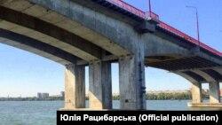 Центральний міст після капітального ремонту, Дніпро, 13 вересня 2019 року