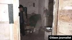 Дом, расположенный по улице «Нурли йул» в Хазараспском районе Хорезмской области.