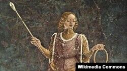 Фрагмент фрески Франческо дель Коссы