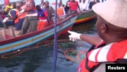 Akcija spašavanja u jezeru Viktorija, Tanzanija