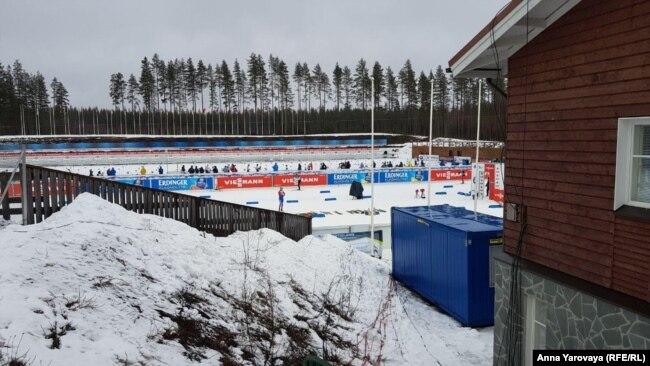 Этап Кубка мира по биатлону в Финляндии проходит без зрителей