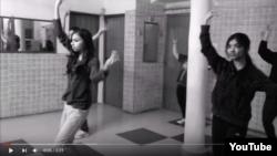 Кадр із відео, опублікованого іранськими підлітками