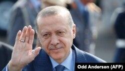 Թուրքիայի նախագահ Ռեջեփ Թայիբ Էրդողանը ժամանել է Գերմանիա, Բեռլին, 27 սեպտեմբերի, 2018թ.