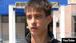 """Александр Боженко, свидетель по делу """"о беспорядках в Жанаозене"""". Актау, 26 апреля 2012 года."""