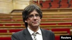 Президент Каталонии Карлес Пучдемон