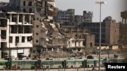 La Alep, 15 decembrie 2016