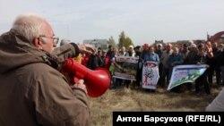 Акция протеста в Бердске