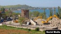 Строительство моста в Керчи