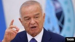 Өзбекстан президенті Ислам Кармов. (Көрнекі сурет)