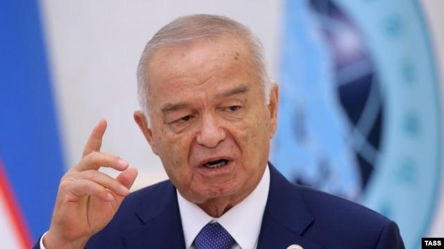 img ISLAM KARIMOV Uzbekistan's President