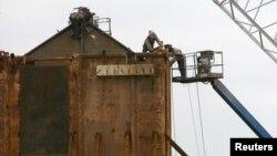 Устранение аварии на платформе Deepwater Horizon