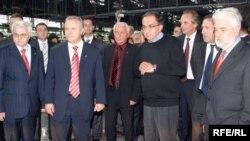 Prestavnici vlasti Srbije i Fiata u Kragujevcu, Foto: Branko Vučković