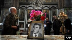 A commemoration service in a Sofia church marking 35 years since the murder of Georgi Markov, a Bulgarian dissident killed in London in 1978, reportedly by the Bulgarian security service and KGB acting in concert.