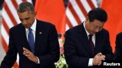 Кытай лидери Си Цзинпин менен АКШ президенти Барак Обама