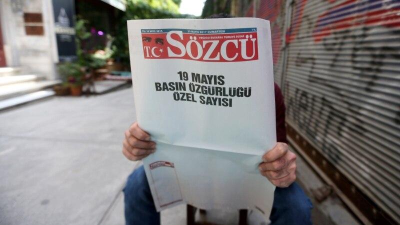 Թուրքիայում ձերբակալվել են ընդդիմադիր Sozcu թերթի երկու աշխատակիցներ