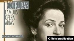 Ileana Cotrubaș pe coperta unui disc Sony cu arii din opere celebre