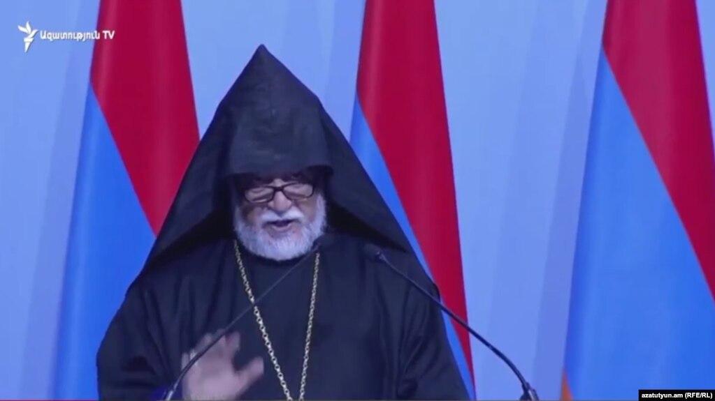 Католикос Арам Первый: Успех Никола Пашиняна - это успех Армении