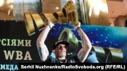 Aleksandr Usik Kiyevde, 2018 s. avgust 1