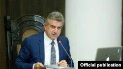 Новоназначенный премьер-министр Армении Карен Карапетян (архив)