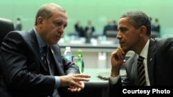 Барак Обама (справа) и Реджеп Эрдоган