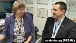 Павал Севярынец і Сьвятлана Вранава