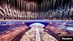 WATCH: Fireworks, Pageantry As Rio Opens 2016 Olympic Games