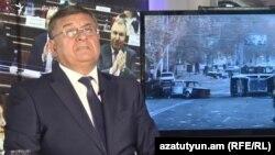 Armenia - Gagik Jahangirian, a former deputy prosecutor-general, is interviewe by RFE/RL, Yerevan, June 21, 2019.