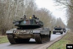 Танки «Леопард-2» збройних сил Польщі