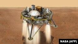Марсианский зонд InSight