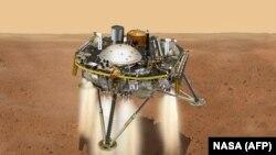 Simulirani prikaz slijetanja sonde InSight na Mars