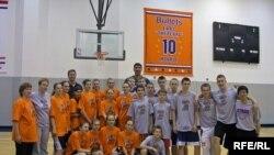 Nga vizita e basketbollistëve të rinj rusë në Uashington...