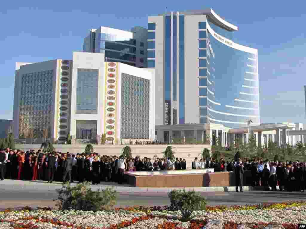 The Hotel Oguzkent in Ashgabat