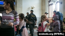 Чеченские беженцы (архивное фото)