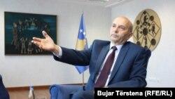 Kryetari i Lidhjes Demokratike të Kosovës, Isa Mustafa.