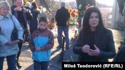 Ruslana pored mesta ubistva kijevskih demonstranata