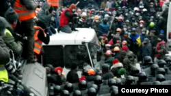 Столкновения в Киеве, 19 января 2014