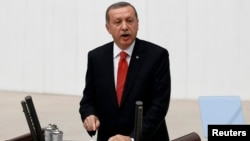 Турскиот претседател Реџеп Таип Ердоган.