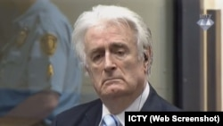 Radovan Karadžić u sudnici Haškog tribunala, 24. mart 2016.