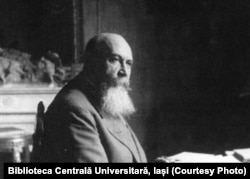 Nicolae Iorga, Prim-ministru al României. Sursă: Biblioteca Centrală Universitară, Iași