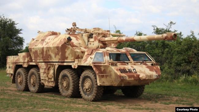 Czech Republic -- A DANA-M1 self-ropelled gun howitzer. (Photo from www.army-technology.com)