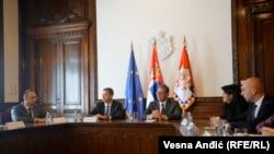 Sastanak predsednika Srbije Aleksandra Vučića sa predstavnicima Srpske liste