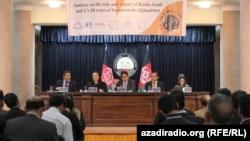 Azadi 10th Anniversary Seminar in Kabul